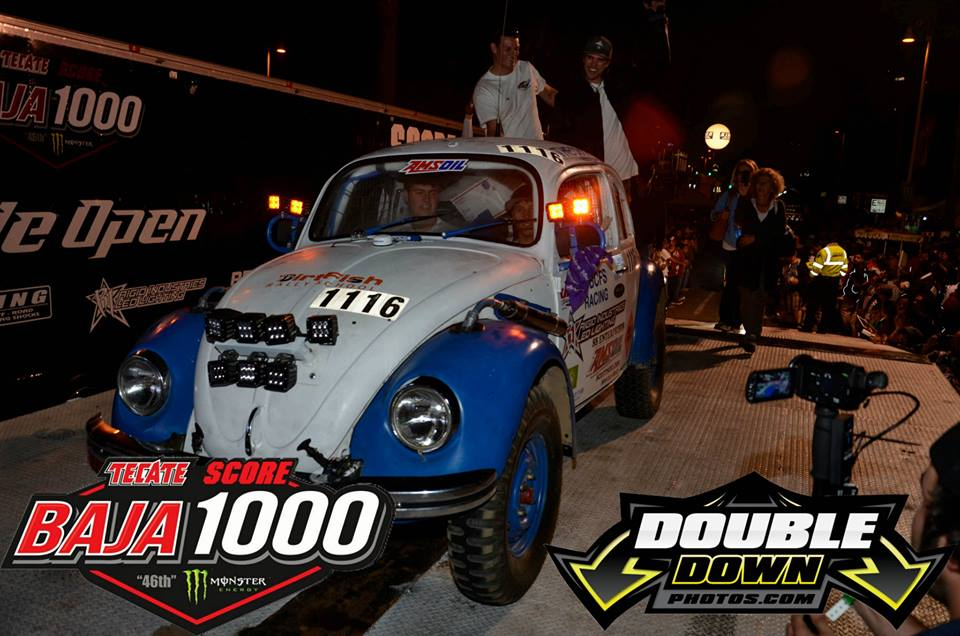 CBCFS Racing and #1116 in the 2013 SCORE Baja 1000 contingency line. They secured second place out of six.