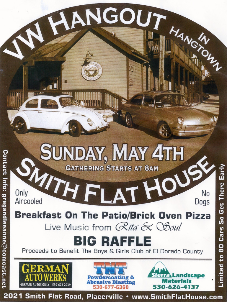 Smith Flat VW Car Show May 4