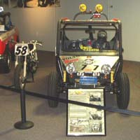 On display at the National Automobile Museum in Reno, NV