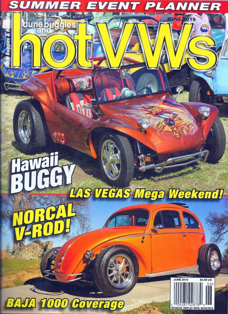 On the cover of the US' HotVW Magazine for June 2015. Click the photo to view the article in PDF format.