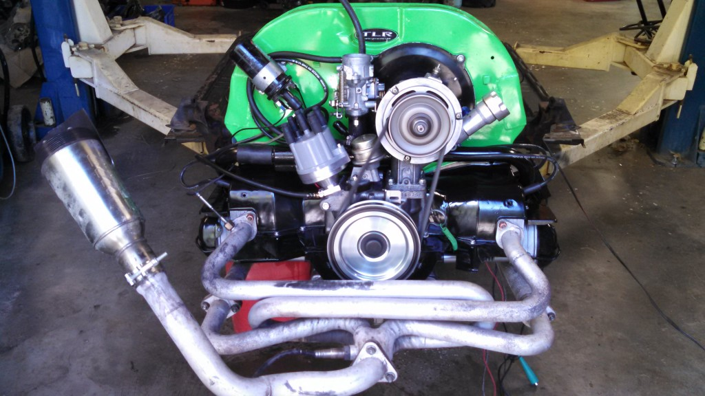 #1147's new engine, cam broken in, tuned, and ready to install.