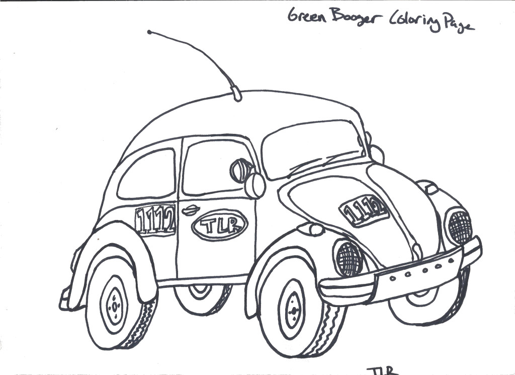 #1112 the Green Booger, Class 11 Stockbug